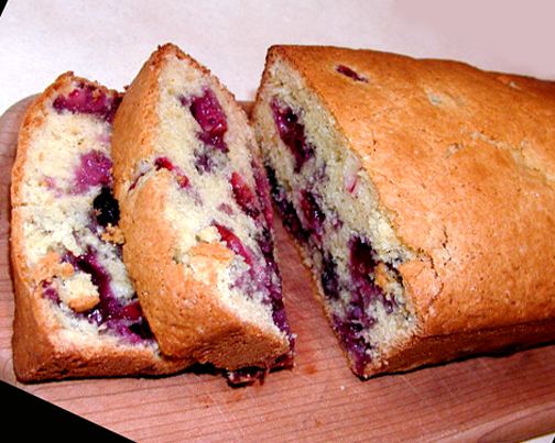 Easter Blueberry Bread picture
